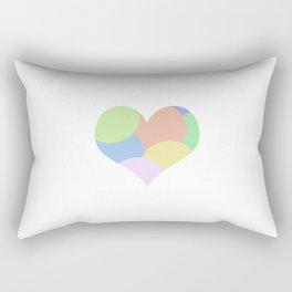 Multicolor feeling Rectangular Pillow