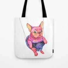 Eule the magic bulldog Tote Bag