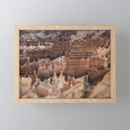 Bryce Canyon Framed Mini Art Print