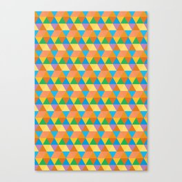 3-Point Pattern Canvas Print