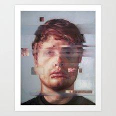 Fusion portrait series Art Print