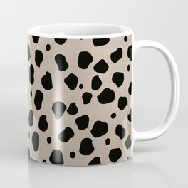 Cheetah Animal Tan Black Print Glam #2 #pattern #decor #art #society6 Coffee Mug