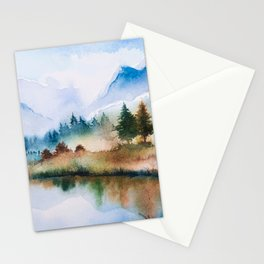 Winter scenery #16 Stationery Cards