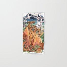 Three Headed Chrysanthemum Dragon Hand & Bath Towel