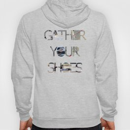 Gather Your Shoes - Close-up #2 Hoody
