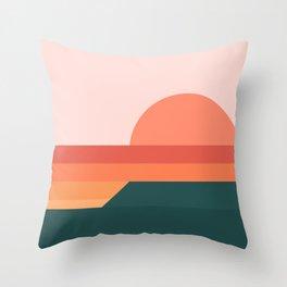 Sunseeker 08 Landscape Throw Pillow