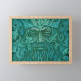Green Man Framed Mini Art Print
