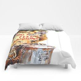 do not feed baboons Comforters