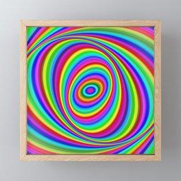 Rainbow Hypnosis Framed Mini Art Print