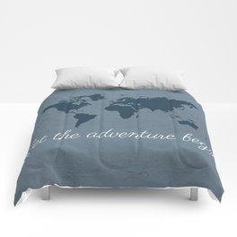 Let the adventure begin Comforters