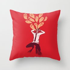 Overload Throw Pillow