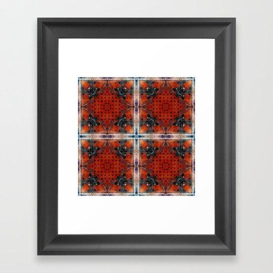 OR/WELL:  Calculator FRACTAL Framed Art Print