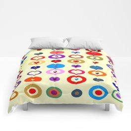 Op Art #7 Comforters