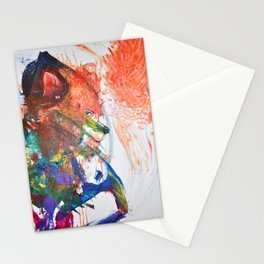 The Wily Fox | A Collaboration with my Toddler Stationery Cards