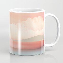 Mint Moon Beach Coffee Mug