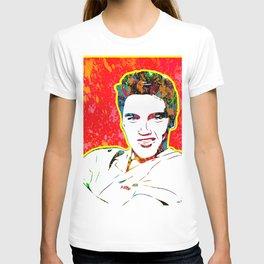 Elvis | Splatter Series | Presley | Pop Art T-shirt