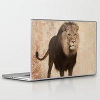 lion Laptop & iPad Skins featuring Lion by haroulita