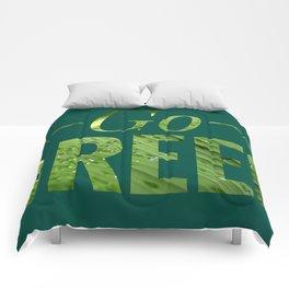 Go Green! Logo Comforters