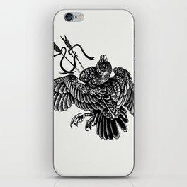 dead bird iPhone Skin