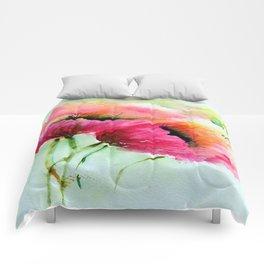 Beautiful Poppy Comforters