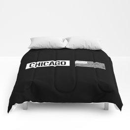 U.S. Flag: Chicago Comforters
