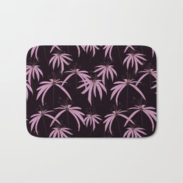 Floral darwing Pattern design by #MahsaWatercolor Bath Mat