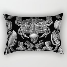 Ernst Haeckel Cirripedia Barnacles Crabs Rectangular Pillow
