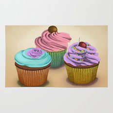 Cupcakes!  Rug