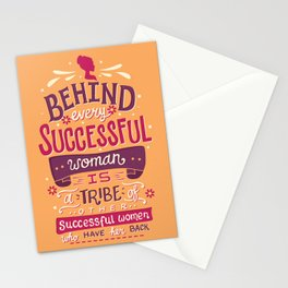Successful women Stationery Cards