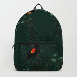 Red-Winged Blackbird Pattern Backpack