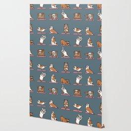 English Bulldog Yoga Wallpaper