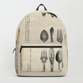 antique cutlery Backpack