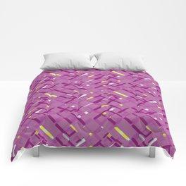 Urban purple Comforters