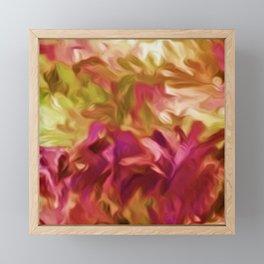 Flourishing Romance Framed Mini Art Print