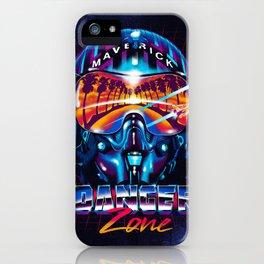 Danger Zone iPhone Case