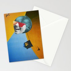 Collapsed Head Stationery Cards