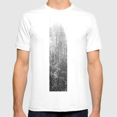 Snow in early fall(3) Mens Fitted Tee White MEDIUM