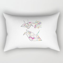Paper Cranes Rectangular Pillow