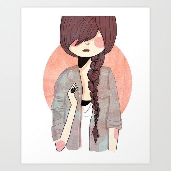 Some Fashion Art Print