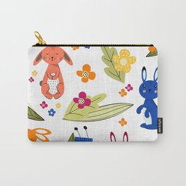 Rabbits pattern 1 Carry-All Pouch