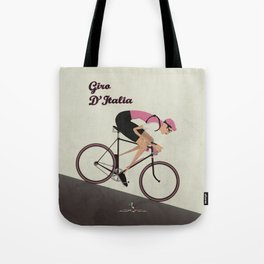 Giro D'Italia Cycling Race Italian Grand Tour Tote Bag