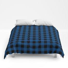 Plaid (blue/black) Comforters