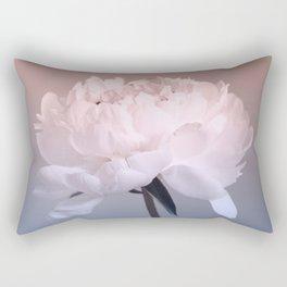 Single peony (ombre) Rectangular Pillow