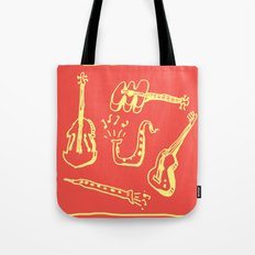 Happy Music Tote Bag