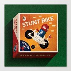 Stunt Bike Canvas Print