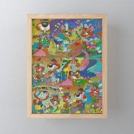 Acid Framed Mini Art Print