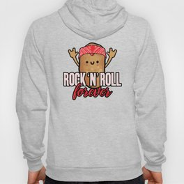 Rock N Roll Forever is My Life Funny Potato Pun Old rock Day  Hoody