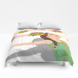 Surround Yourself With Indian Tacos Comforters