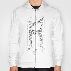 R - is for Rare - white version Hoody