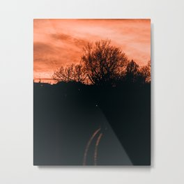 Sunset Sky Metal Print